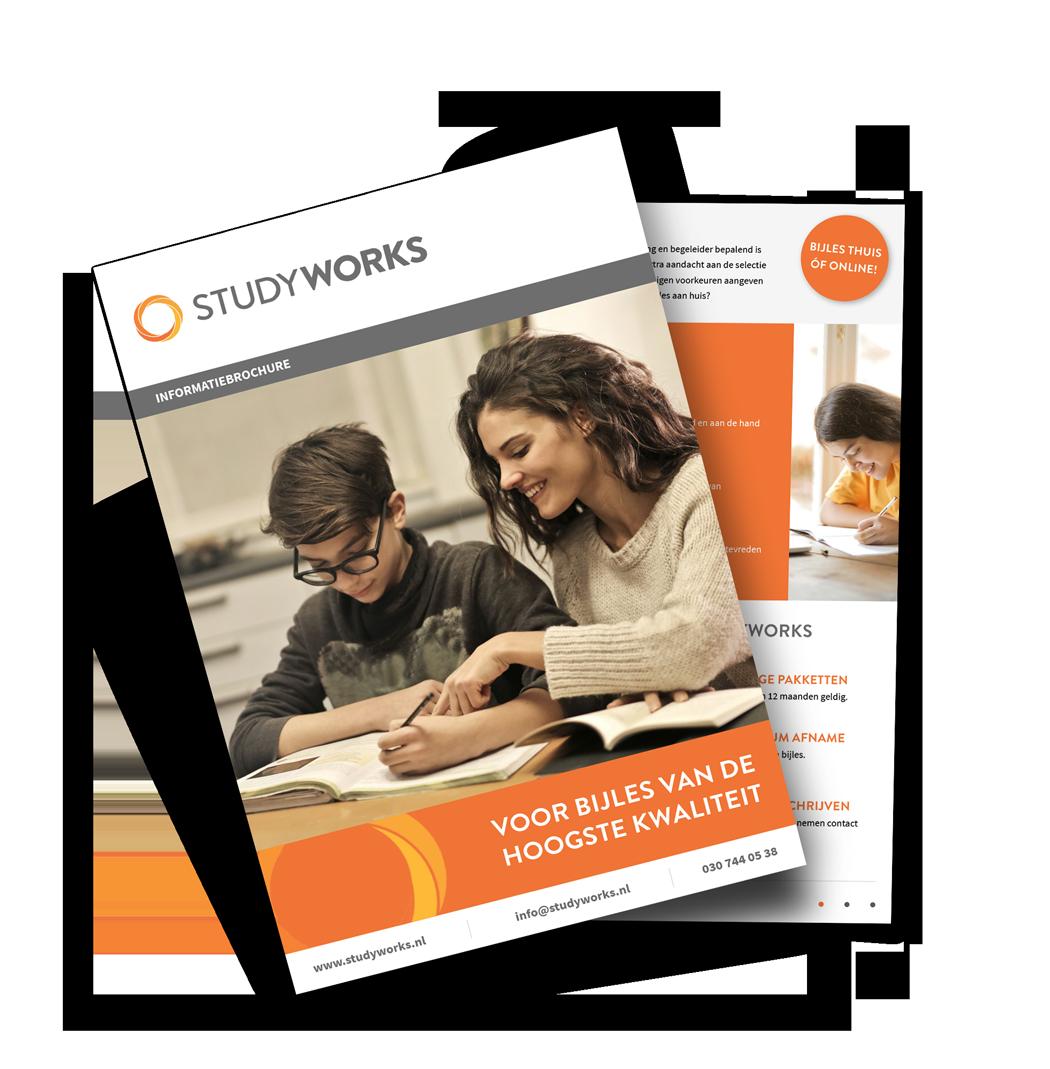 Brochure voorbeeld StudyWorks